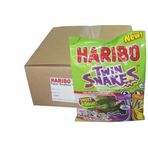 Haribo Twin Snakes Gummi Candy
