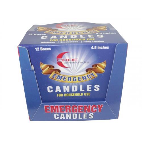 Emergency Candles Utility 12-4 Pcs