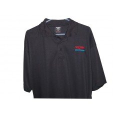 Gas Station Exxon Logo Shirt Black Size S