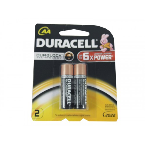 Duracell Battery AA2 PK