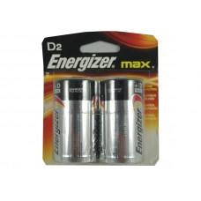Energizer Battery D 2 Pack U.S.A