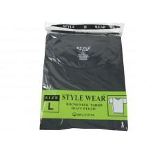 Style Wear Crewneck T-Shirt Black Size L