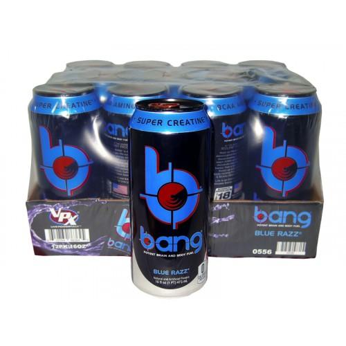 Bang Energy Drink Blue Razz