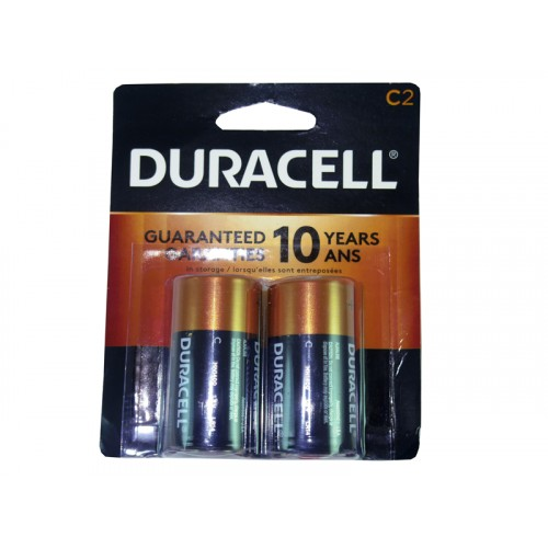 Duracell Battery C2 Coppertop USA