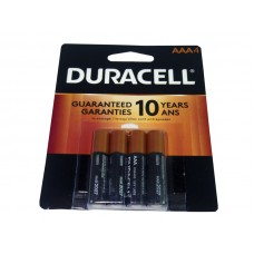 Duracell Battery AAA4 Coppertop USA