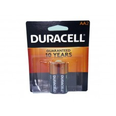 Duracell Battery AA 2 Coppertop USA