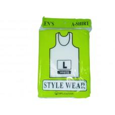 Style Wear A-Shirt White L