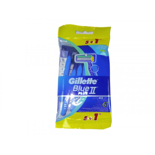 Gillette Blue II Plus 5+