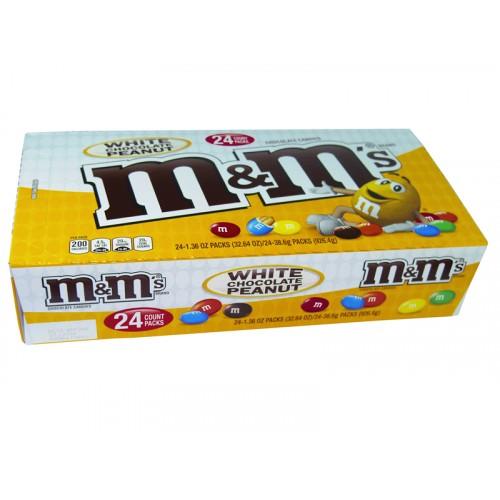 M and M Peanut White Chocolate