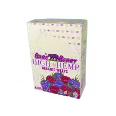 High Hemp Organic Wraps Bare Berry