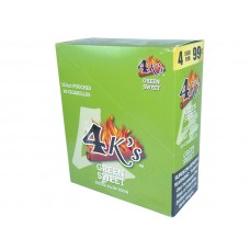 4 Kings Cigarillos Green Sweet 4/.99