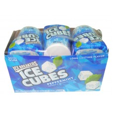 Ice Brakers Ice Cubes Peppermint Gum