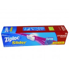 Ziploc Slider Bag 10 9/16 X 9 1/5 Inch