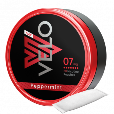 Velo 07mg 20Nicotine Pouches Peppermint