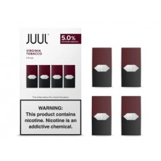 JUUL PODS VIRGINIA TOBACCO 5% 4 pack