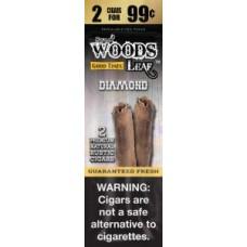 G/T Sweet Woods Leaf Diamond $ 2for0.99c