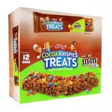 Kelloggs Cocoa Krispies Treats With M And M Minis