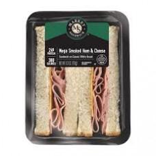 Market Sandwich Mega Smoked White Turkey & Cheese