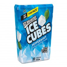 Ice Breakers Ice Cubes Thin Pack - Peppermint