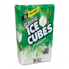 Ice Breakers Ice Cubes Thin Pack - Spearmint