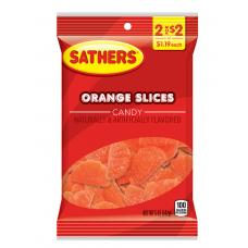 Sathers 2/$2 Orange Slices