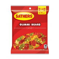 Sathers 2/$2 Gummi Bears