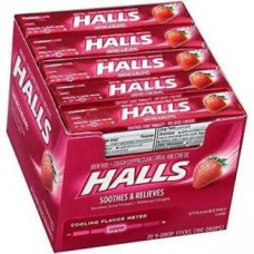 Halls Strawberry Drops