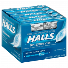 Halls Ice Peppermint Drops